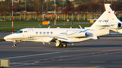 TC-TVH - Cessna Citation Latitude - TAV Airport