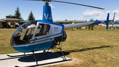 ZK-HVJ - Robinson R22 Beta II - Private