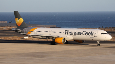YL-LCX - Airbus A321-211 - Thomas Cook Airlines (SmartLynx Airlines)