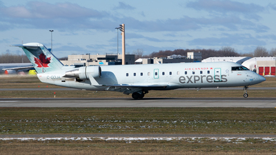 C-GOJA - Bombardier CRJ-200LR - Air Canada Express (Jazz Aviation)