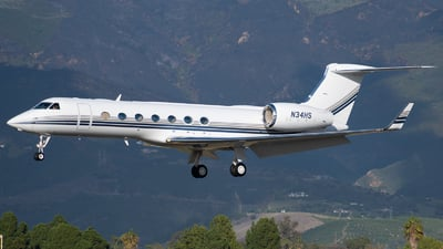 N34HS - Gulfstream G-V(SP) - Private