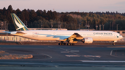 B-HNG - Boeing 777-367 - Cathay Pacific Airways