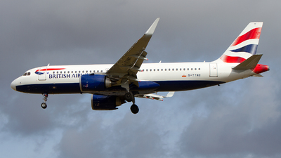 G-TTNC - Airbus A320-251N - British Airways