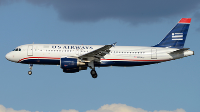 N124US - Airbus A320-214 - US Airways