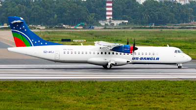 S2-AKJ - ATR 72-212A(600) - US-Bangla Airlines