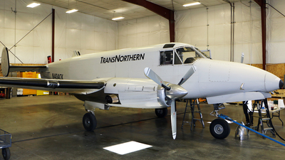 N404CK - Beech C-45H Expeditor - TransNorthern