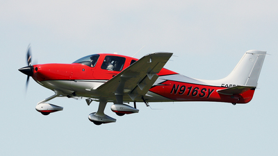 N916SY - Cirrus SR22T-GTS G6 Carbon - Private