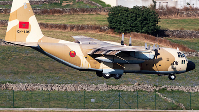CN-AOK - Lockheed C-130H Hercules - Morocco - Air Force