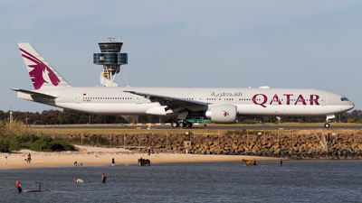 A7-BEV - Boeing 777-3DZER - Qatar Airways