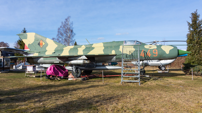 449 - Mikoyan-Gurevich MiG-21SPS Fishbed F - German Democratic Republic - Air Force