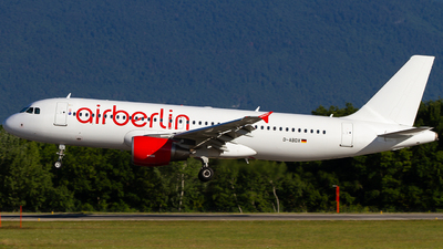 D-ABDX - Airbus A320-214 - Air Berlin