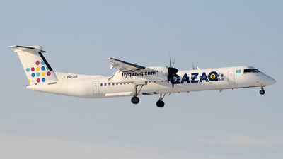 P4-AIR - Bombardier Dash 8-Q402 - Qazaq Air