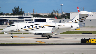 N1337U - Bombardier BD-100-1A10 Challenger 350 - Private