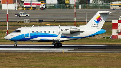 B-3077 - Bombardier CL-600-2B16 Challenger 605 - Donghai Jet