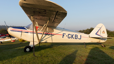 F-GKBJ - Piper PA-12-125 Super Cruiser - Private