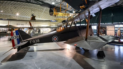 F938 - Royal Aircraft Factory SE.5A Scout - United Kingdom - Royal Flying Corps (RFC)
