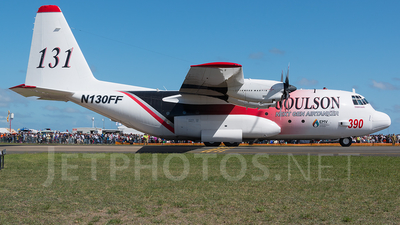N130FF - Lockheed EC-130Q Hercules - Coulson Flying Tankers