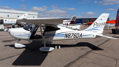 N876DA - Tecnam P2008 - Private