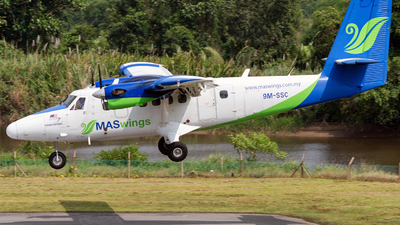 9M-SSC - Viking DHC-6-400 Twin Otter - MASWings