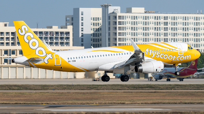 9V-TRW - Airbus A320-232 - Scoot