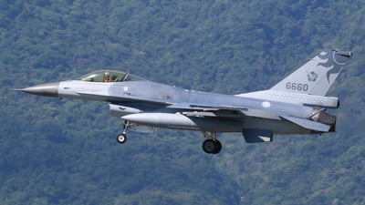 6660 - General Dynamics F-16A Fighting Falcon - Taiwan - Air Force