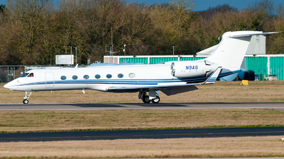N9AG - Gulfstream G550 - Private