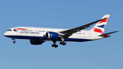 G-ZBJI - Boeing 787-8 Dreamliner - British Airways