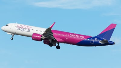 HA-LVG - Airbus A321-271NX - Wizz Air