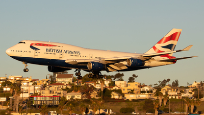G-CIVA - Boeing 747-436 - British Airways
