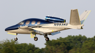 N993KG - Cirrus Vision SF50 - Private