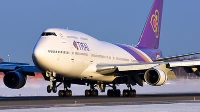 HS-TGX - Boeing 747-4D7 - Thai Airways International