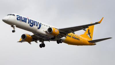 G-NSEY - Embraer 190-200STD - Aurigny Air Services
