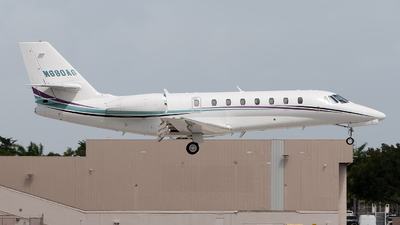 N680AG - Cessna 680 Citation Sovereign - Private
