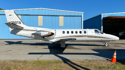 N750TB - Cessna 550 Citation II - Private