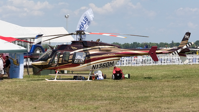 N136DM - Bell 407GX - Private