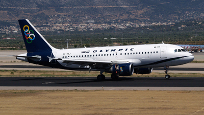 SX-OAJ - Airbus A319-112 - Olympic Air