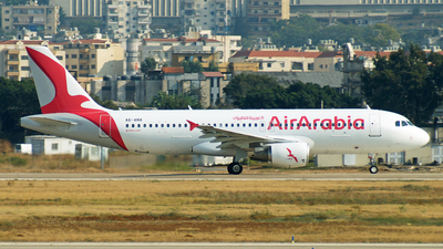 A6-ANA - Airbus A320-214 - Air Arabia