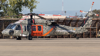 N160CD - Sikorsky S-70A-30 Blackhawk - Coulson Flying Tankers