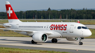 HB-JBC - Bombardier CSeries CS100  - Swiss