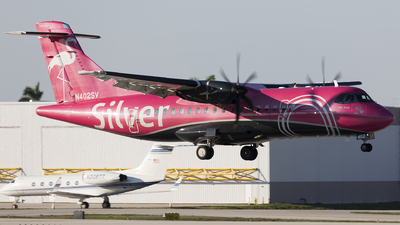 N402SV - ATR 42-600 - Silver Airways