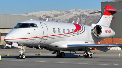 N614WD - Bombardier BD-100-1A10 Challenger 300 - Private
