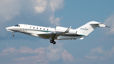 N255FP - Cessna 750 Citation X - Private