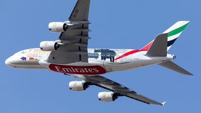 A6-EER - Airbus A380-861 - Emirates