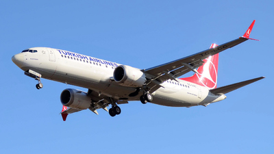 TC-LCC - Boeing 737-8 MAX - Turkish Airlines