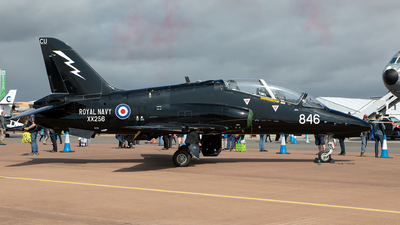 XX256 - British Aerospace Hawk T.1A - United Kingdom - Royal Navy