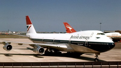 G-AWNK - Boeing 747-136 - British Airways