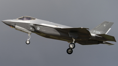 F-006 - Lockheed Martin F-35A Lightning II - Netherlands - Royal Air Force