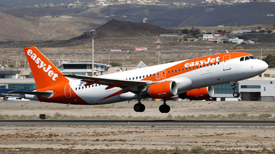 OE-IVH - Airbus A320-214 - easyJet Europe
