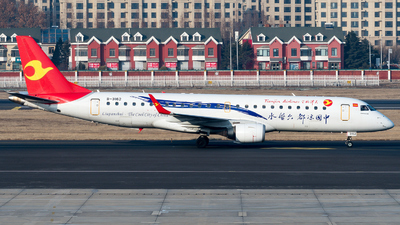 B-3162 - Embraer 190-100LR - Tianjin Airlines