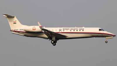 KE-3605 - Embraer ERJ-135BJ Legacy 600 - India - Border Security Force
